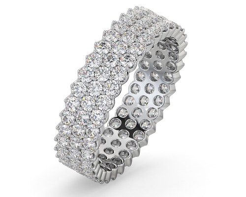 Jasmine Eternity Rings