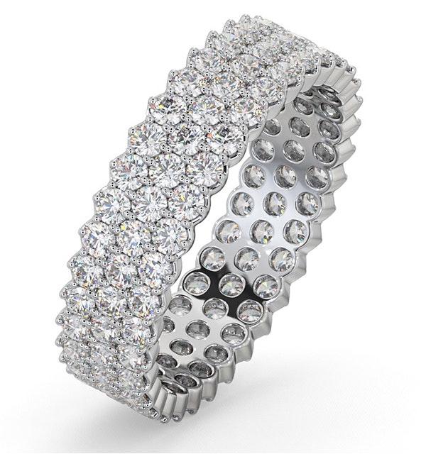 Mens 2ct G/Vs Diamond 18K White Gold Full Band Ring  IHG30-422XUY - image 1