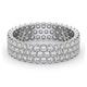 Mens 2ct G/Vs Diamond 18K White Gold Full Band Ring  IHG30-422XUY - image 3
