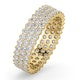 Mens 2ct G/Vs Diamond 18K Gold Full Band Ring  IHG30-422XUA - image 1