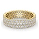 Mens 2ct G/Vs Diamond 18K Gold Full Band Ring  IHG30-422XUA - image 3