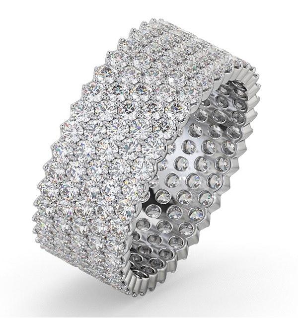 Eternity Ring Jasmine 18K White Gold Diamond 3.00ct G/Vs - image 1