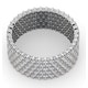 Mens 3ct H/Si Diamond Platinum Full Band Ring  IHG30-522JUS - image 4