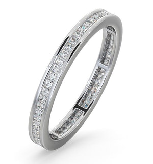 Eternity Ring Lauren Platinum Diamond 0.50ct H/Si