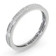 Eternity Ring Lauren 18K White Gold Diamond 0.50ct G/Vs - image 2