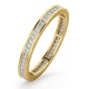Eternity Ring Lauren 18K Gold Diamond 0.50ct G/Vs - image 1