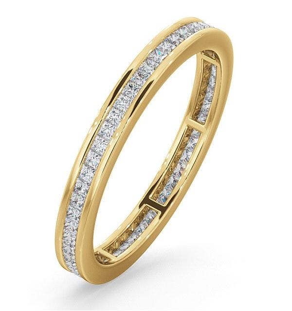 Eternity Ring Lauren 18K Gold Diamond 0.50ct G/Vs - image 1