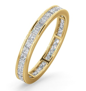 Eternity Ring Lauren 18K Gold Diamond 1.00ct H/Si