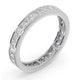 Eternity Ring Lauren Platinum Diamond 1.50ct H/Si - image 2
