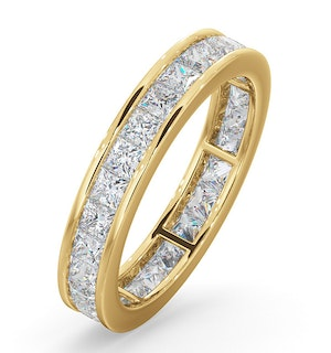 Eternity Ring Lauren 18K Gold Diamond 2.00ct H/Si