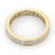 Mens 2ct H/Si Diamond 18K Gold Full Band Ring  IHG31-422JUA - image 4