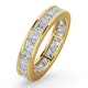 Mens 3ct G/Vs Diamond 18K Gold Full Band Ring  IHG31-522XUA - image 1