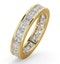Eternity Ring Lauren 18K Gold Diamond 3.00ct H/Si - image 1