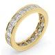 Mens 3ct H/Si Diamond 18K Gold Full Band Ring  IHG31-522JUA - image 2