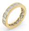 Eternity Ring Lauren 18K Gold Diamond 3.00ct H/Si - image 2
