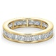 Mens 3ct H/Si Diamond 18K Gold Full Band Ring  IHG31-522JUA - image 3