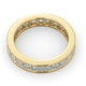 Mens 3ct G/Vs Diamond 18K Gold Full Band Ring  IHG31-522XUA - image 4