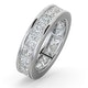 Mens 5ct G/Vs Diamond 18K White Gold Full Band Ring  IHG31-722XUY - image 1