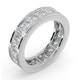Mens 5ct G/Vs Diamond 18K White Gold Full Band Ring  IHG31-722XUY - image 2