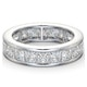 Mens 5ct G/Vs Diamond Platinum Full Band Ring  IHG31-722XUS - image 3
