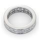 Mens 5ct G/Vs Diamond Platinum Full Band Ring  IHG31-722XUS - image 4