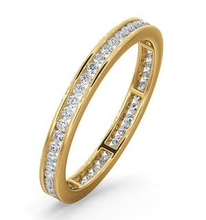 Diamond Eternity Ring Rae Channel Set 0.50ct G/Vs in 18K Gold