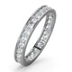 Diamond Eternity Ring Rae Channel Set 1.00ct H/Si in Platinum - image 1