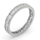Diamond Eternity Ring Rae Channel Set 1.00ct H/Si in Platinum - image 2