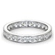 Diamond Eternity Ring Rae Channel Set 1.00ct H/Si in Platinum - image 3