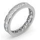 Diamond Eternity Ring Rae Channel Set 1.50ct H/Si in Platinum - image 2