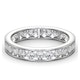 Diamond Eternity Ring Rae Channel Set 1.50ct H/Si in Platinum - image 3
