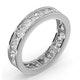 Diamond Eternity Ring Rae Channel Set 2.00ct G/Vs in 18K White Gold - image 2