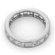 Diamond Eternity Ring Rae Channel Set 2.00ct G/Vs in 18K White Gold - image 4