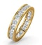 Diamond Eternity Ring Rae Channel Set 2.00ct H/Si in 18K Gold - image 1