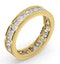 Diamond Eternity Ring Rae Channel Set 2.00ct H/Si in 18K Gold - image 2