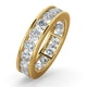 Mens 3ct H/Si Diamond 18K Gold Full Band Ring  IHG33-522JUA - image 1