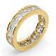 Mens 3ct H/Si Diamond 18K Gold Full Band Ring  IHG33-522JUA - image 2