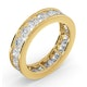 Mens 3ct G/Vs Diamond 18K Gold Full Band Ring  IHG33-522XUA - image 2