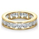 Mens 3ct H/Si Diamond 18K Gold Full Band Ring  IHG33-522JUA - image 3