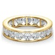 Mens 3ct G/Vs Diamond 18K Gold Full Band Ring  IHG33-522XUA - image 3