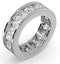 Diamond Eternity Ring Rae Channel Set 5.00ct G/Vs in 18K White Gold - image 2