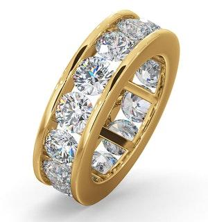 Diamond Eternity Ring Rae Channel Set 5.00ct G/Vs in 18K Gold