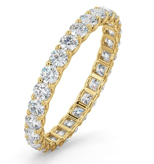 Eternity Ring Chloe 18K Gold Diamond 1.00ct H/Si