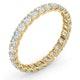 Eternity Ring Chloe 18K Gold Diamond 1.00ct H/Si - image 2