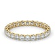 Eternity Ring Chloe 18K Gold Diamond 1.00ct H/Si - image 3