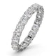 Eternity Ring Chloe 18K White Gold Diamond 2.00ct H/Si - image 1