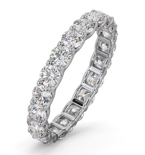 Eternity Ring Chloe 18K White Gold Diamond 2.00ct H/Si - image 1