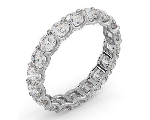 white gold eternity rings