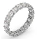Eternity Ring Chloe 18K White Gold Diamond 3.00ct G/Vs - image 2