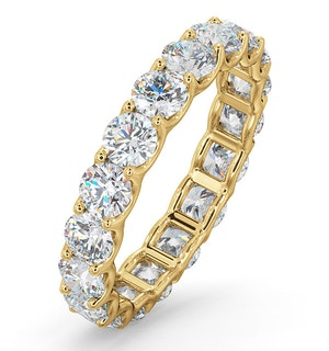 Eternity Ring Chloe 18K Gold Diamond 3.00ct G/Vs